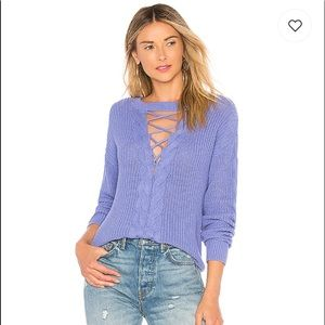 NWT Lovers & Friends Monica Sweater in Periwinkle